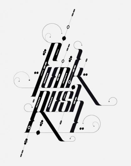 Type Treatments 2011 #typography