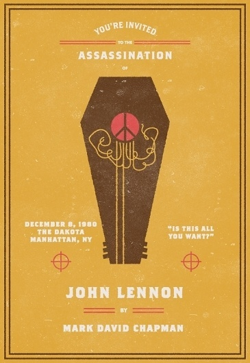 Invitation To An Assassination #assassination #john #lennon #invitation