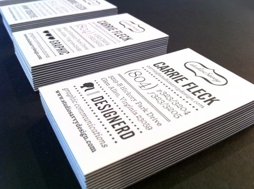 Awesome Business Card Ideas | Oh So Beautiful Paper #cards #business #typography