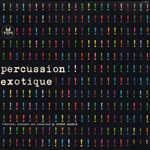 Project Thirty Three: Percussion Exotique (1960) #cover #album