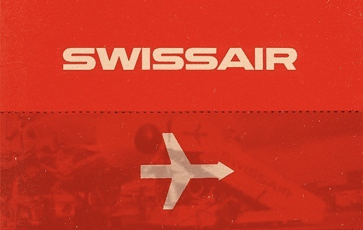 WANKEN - The Blog of Shelby White » Design #logotype #branding #swissair #logo #identity #type #typography