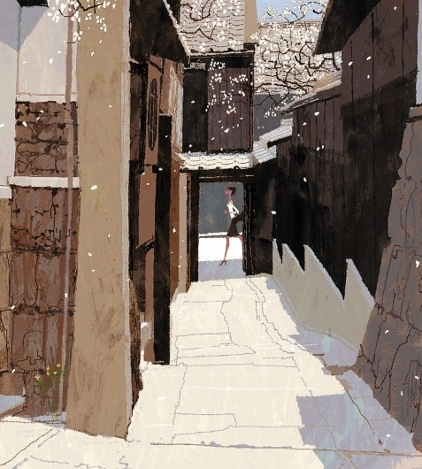 lexus2.jpg (JPEG Image, 760x844 pixels) #streets #illustrations