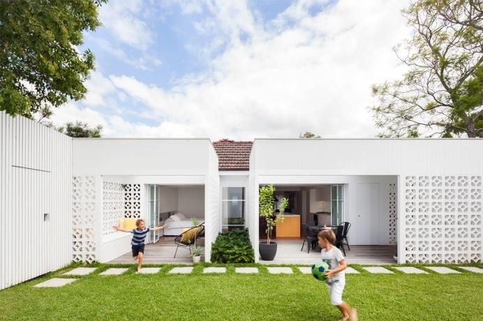 Breeze Block House