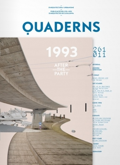 Q​u​a​d​e​r​n​s #printed #quaderns #publication #matter