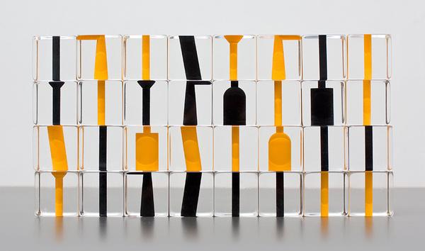 Stefan Gougherty #yellow #geometry #minimal #black