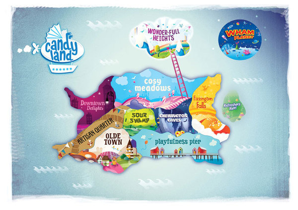 Candyland The Dieline #packaging #candy