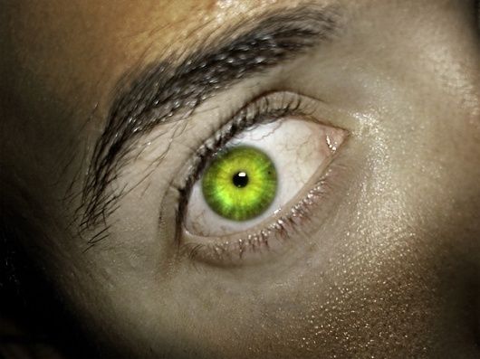 Me, Angry, No Good by ~pantunes #eyes #hulk #photoshop