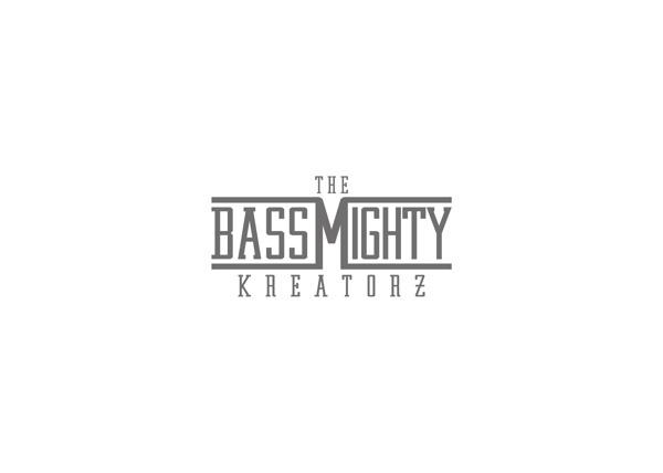 The BassMighty Kreatorz logo #design #dubstep #minimal #music #logo