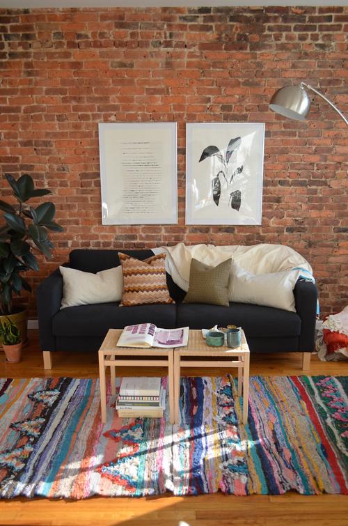 Brick Walls For Living Room