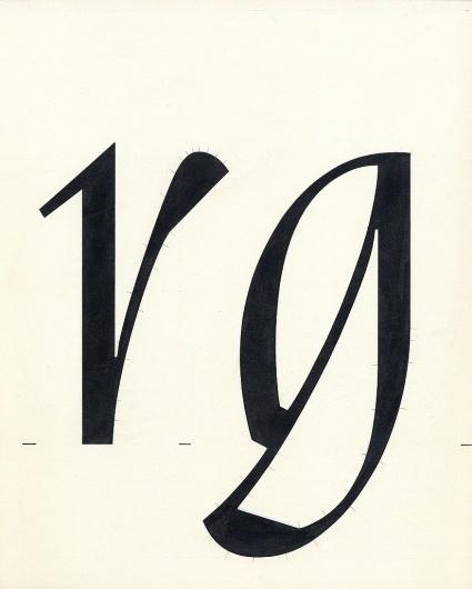All sizes | Nara drawing r g | Flickr - Photo Sharing! #design #grid #nara #typotheque #metafont #type