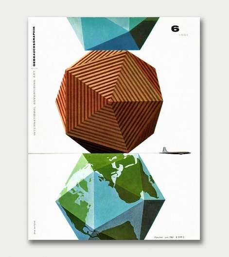 Eight Hour Day » Blog #globe #nitsche #design #geometric #vintage #erik