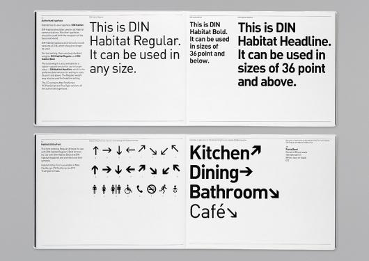 Habitat – Identity 2002 | Identity | Graphic Thought Facility #logo #identity #guidelines #branding
