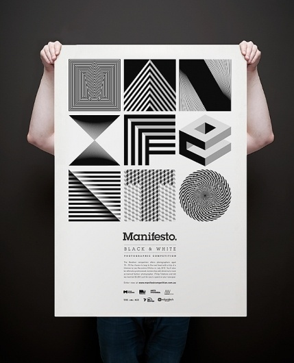 Manifesto identity by Josip Kelava » Design You Trust – Design and Beyond! #black #white #poster #and