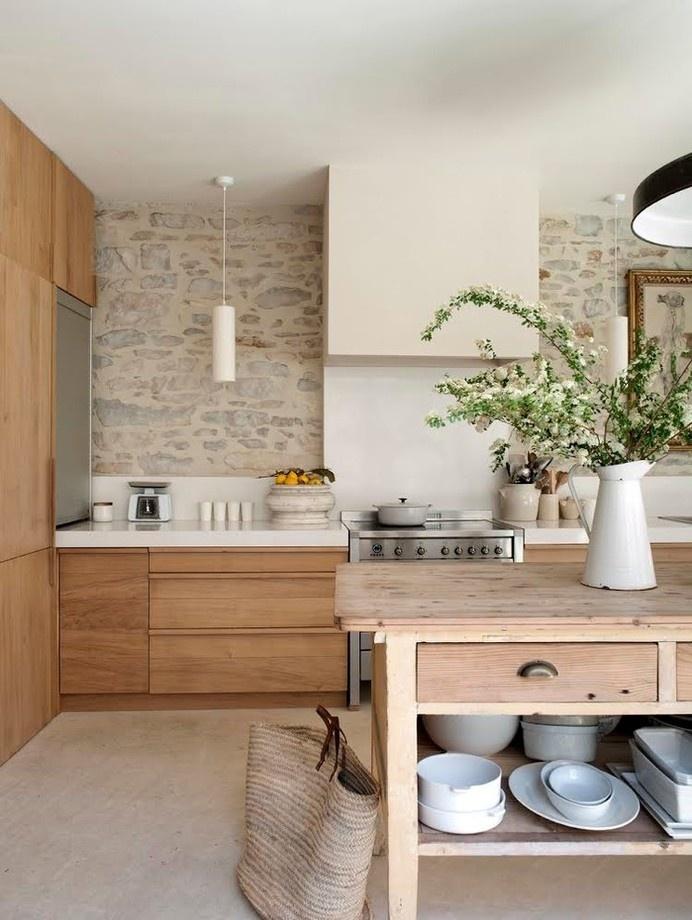 kitchen, legno, luce