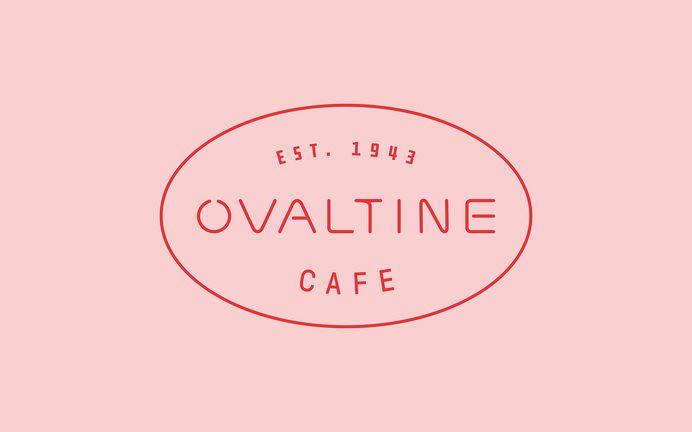 Ovaltine Cafe #branding #rebrand #design #logo #identity #print #menu #typography