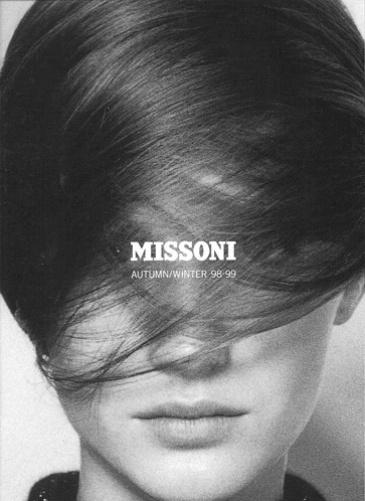 Missoni 1998 FW #b&w