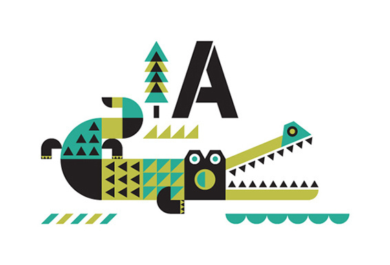 nineteenseventythreeltd: Interview: Ty Wilkins. #illustration #alligator