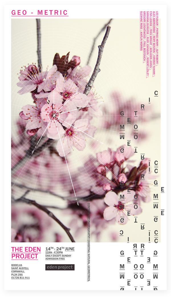 Geo Metric Exhibition Samüel Johnson #print #design #graphic #layout #typography