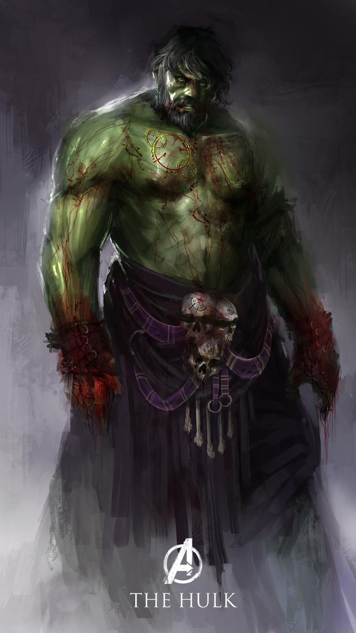 Best Redesign Superheroes of The Hulk #character design #superheroes