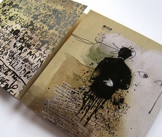 Brian Danaher ::: Design / Rabbit Children CD Package #packaging #illustration #design #cd