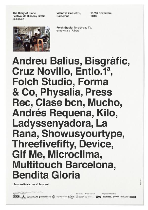 P.A.R Blanc Festival #print