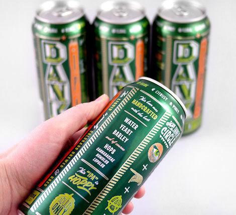 Dank IPA Cans #packaging #beer