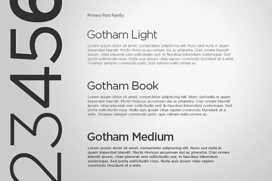 Prospectacy. Corporate and Brand Identity on the Behance Network #type #font #gotham #typography