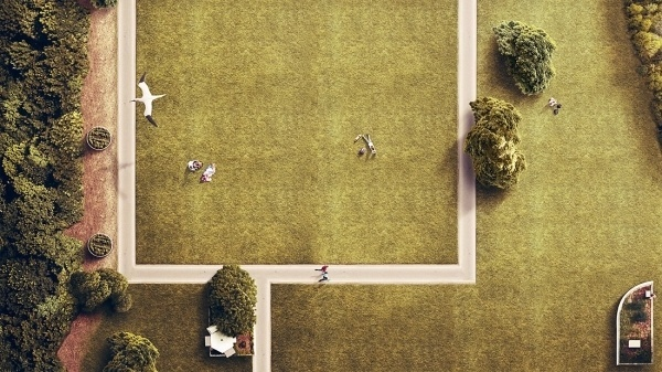 Eye bird / Park - Jorge Peña / Retouch & Illustration #photography