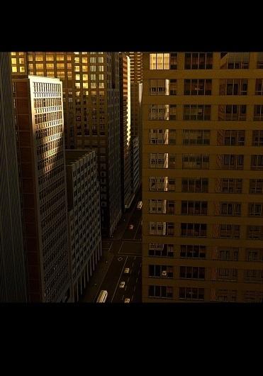 NY06.jpg 651×930 pixels #sun #c4d #city #vray #building #rendering