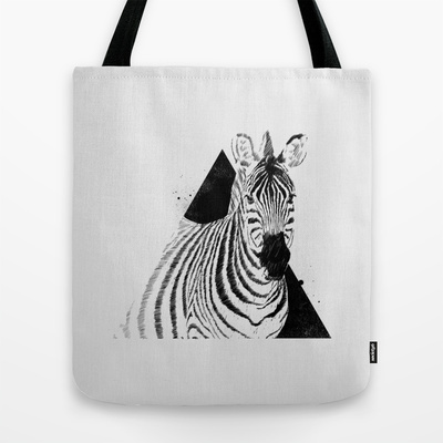 Followers (5) #tote #koning #bolsa #ilustrao #illustration #zebra #fashion #bag