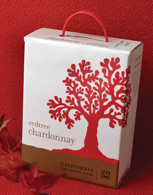 Redtree Wine Cecchetti Wine Company 3L Bag In Box California #packaging #boxed #wine