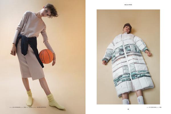 Smile Like You Mean It| FRISCHE No.4 Photographer: Marili Andre Model: Elisabeth Bauer #fashion #photography #basketball