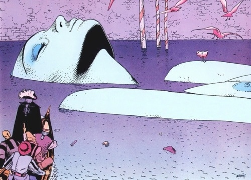 http://thecoolsumist.tumblr.com/tagged/illustration/page/5 #comic #illustration #moebius #drawing #psychedelic