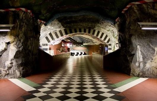 Stockholm Metro | Fubiz™ #stockholm #metro