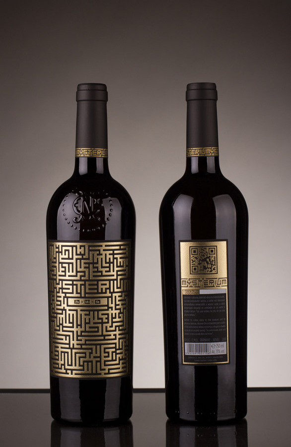 Mysterium Wine #packaging #wine