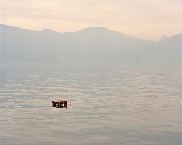 Notes : Tina Hillier - Editorial, Commercial, Fine Art & Portrait Photographer based in London #baggage #suitcase #loneliness #floating #photography #luggage #lake