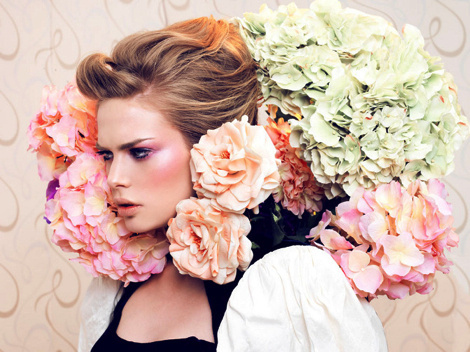 Tayfun Çetinkaya #model #girl #photography #portrait #fashion #flowers #beauty