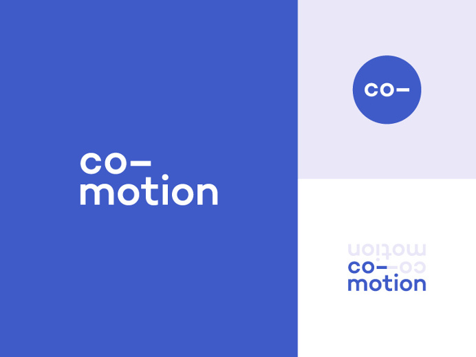 Co-motion Brand Board by Jon McClure