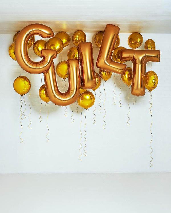 nevver: Guilt #type #guilt #balloons