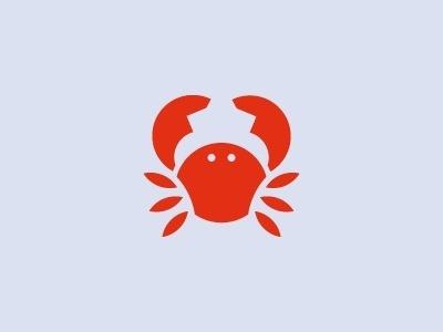 Crayfish Icon design by Sascha Elmers #crayfish #pictogram #icon #picto #symbol #maritime #crab