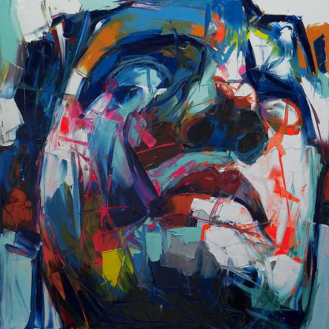 Francoise Nielly | PICDIT #color #portrait #painting #art #colour #deign
