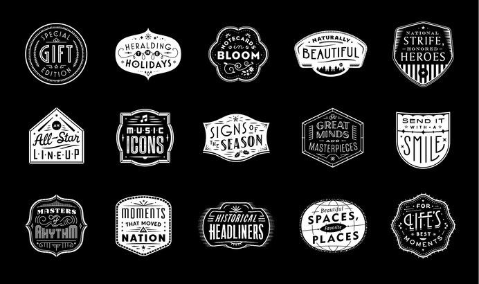 Usps_holiday_badges #badge #holiday