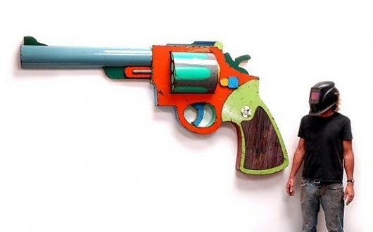 Art + Illustration / #gun #art
