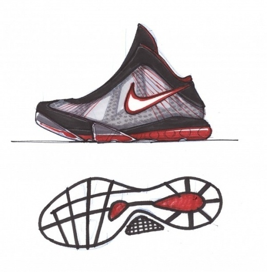 Nike Officially Unveils LeBron 8 V/2 | CounterKicks #nike #sneakers #lebron #sketch