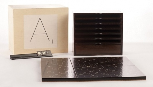 Typographic Scrabble Set » Design You Trust #scrabble