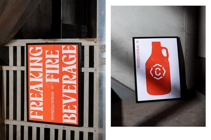 Caserne Brewing - Mindsparkle Mag Caserne designed Caserne Brewing. Real brewery or good stunt? On November 28th, hundreds of guests attended the Brasserie Caserne Brewing Co. launch, a unique project bringing together graphic design, hop and humour. #logo #packaging #identity #branding #design #color #photography #graphic #design #gallery #blog #project #mindsparkle #mag #beautiful #portfolio #designer