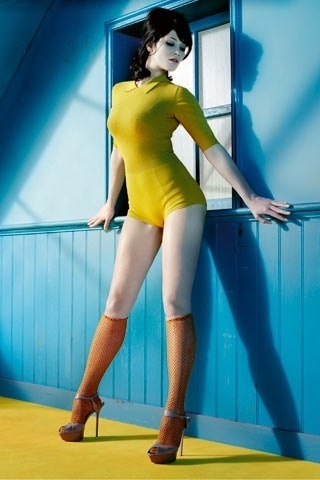 GQ girls: Gemma Arterton - GQ.COM (UK) #arterton #girls #curves #photography #gemma