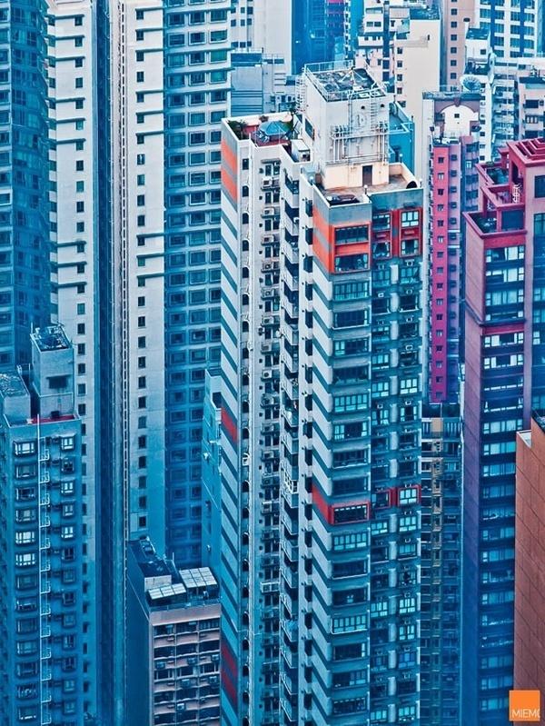 Hong Kong facades by Miemo Penttinen #photography #art