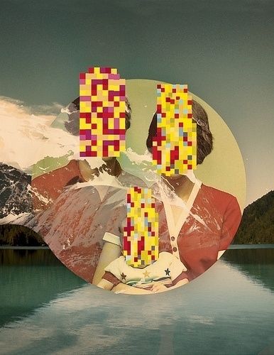 All sizes | Identity | Flickr - Photo Sharing! #stein #jeff #design #portrait #glitch #identity #mountains