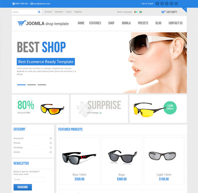 Choose Joomla Template Customization with our services and transform the design of your site in mere hours! #template #joomla #design